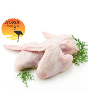 SURIA Chicken Wings/Kepak Ayam (100-120g/pc) (1kg/pkt)
